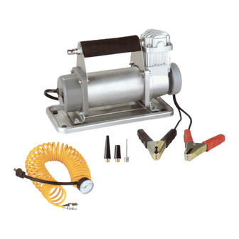 DC 12V Air Compressor With Batter Clamp